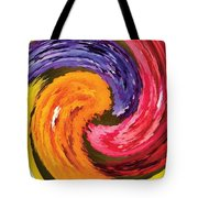Spring Waves Tote Bag