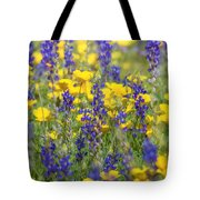 Spring Wildflower Bouquet  Tote Bag