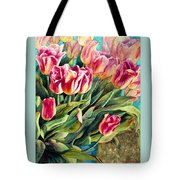 Spring Winds Tote Bag