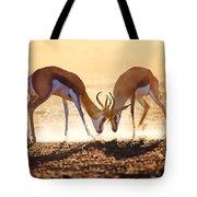 Springbok Dual In Dust Tote Bag