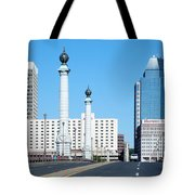 Springfield Memorial Bridge Tote Bag