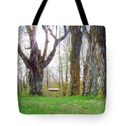 Spring's First Green Tote Bag