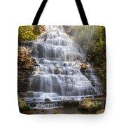 Springtime At Benton Falls Tote Bag