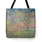 Springtime At Giverny Tote Bag by Claude Monet