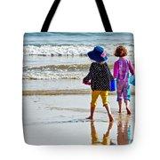Springtime At The Seaside Tote Bag