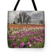 Springtime At Tulip Farm Tote Bag