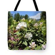 Springtime In The Cascades Tote Bag