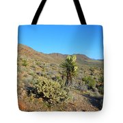Springtime In The Cerbat Mountain Foothills Tote Bag