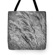 Springtime In The Field - Bw Tote Bag