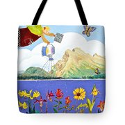 Springtime In The Rockies Tote Bag