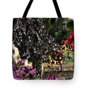 Springtime In Zebulon Center Tote Bag