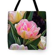Springtime Sprites -- Parrot Tulips Tote Bag