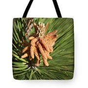 Sprintime Pine Tote Bag
