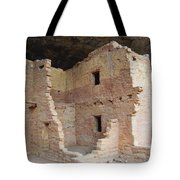 Spruce Tree House Structure Tote Bag