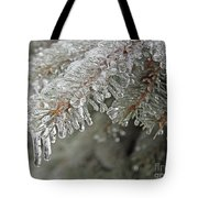 Spruce Under Glass Tote Bag