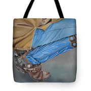 Spur Squatting Tote Bag