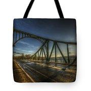 Spy Bridge Tote Bag