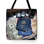 Spy Games Tote Bag