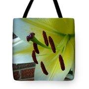 Sq Lily Morning Tote Bag
