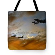 Squadron Scramble Tote Bag