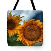 Squamish Sunflowers Tote Bag