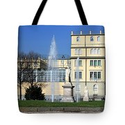 Square And Statues Tote Bag