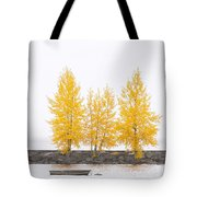 Square Diptych Tree 12-7693 Set 1 Of 2 Tote Bag