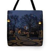 Square In Regina Tote Bag