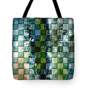 Square Mania - Abstract 01 Tote Bag