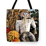 Square Scarecrow Tote Bag