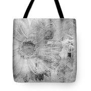 Square Series - Black White 5 Tote Bag