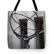 Square Shoulders - Hercules Statue Tote Bag