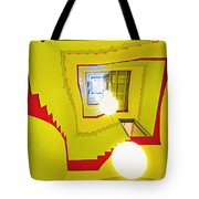 Square Spiral Tote Bag