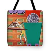 Square Wheels Make Life More Difficult  Tote Bag