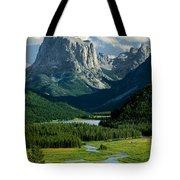 Squaretop Mountain 3 Tote Bag