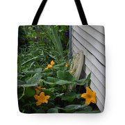 Squash Blossoms Tote Bag