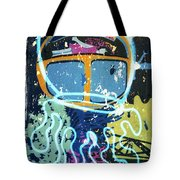 Squid On The Loose Tote Bag
