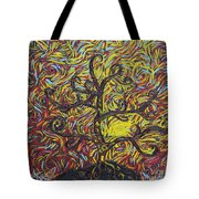 Squiggling In The Wind Tote Bag