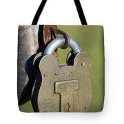 Squire Brass Lock Tote Bag