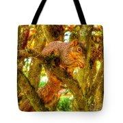 Squirrel Away Acorn Tote Bag