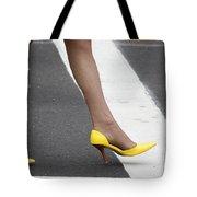 Squished Lemons  Tote Bag