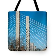 Sr-509 Cable Stayed Bridge Tote Bag