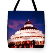 Sri Sri Ravi Shankar Ashram India Tote Bag