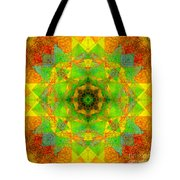 Sri Yantra Variation Mandala Tote Bag
