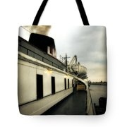S.s. Badger Car Ferry Tote Bag