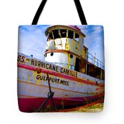 Ss Hurricane Camille Tugboat Tote Bag