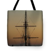 S S V  Corwith Cramer In Key West Tote Bag