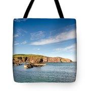 St Abbs Cliffs Tote Bag