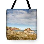 St Abbs Rocky Shoreline Tote Bag