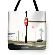 St. Aignan Signs And Shadows Tote Bag